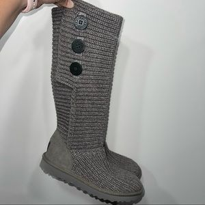 Ugg classic Cardy knit boots size 7